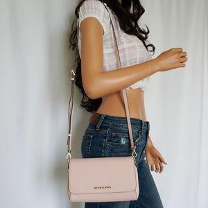 eff1748807816c Michael Kors Bags - Michael Kors Jet Set M Pochette Crossbody Bag Pink